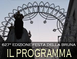 Programma Festa della Bruna | WikiMatera.it Matera