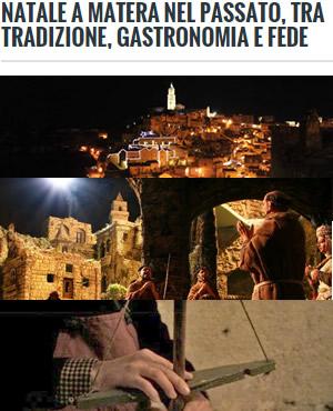 Natale a Matera nel passato, tra tradizione, gastronomia e fede | WikiMatera.it Matera