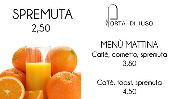 spremuta_menu_colazione_porta_di_iuso_matera