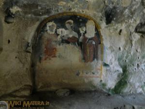 Chiesa Rupestre San Nicola all Ofra Matera WikiMatera 00023