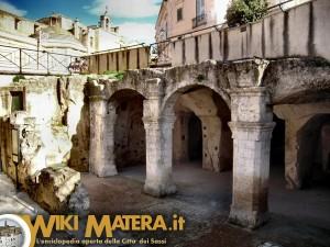 ipogei santo spirito piazza Vittorio veneto WikiMatera Matera 00001